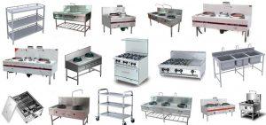 Tổng hợp các loại thiết bị bếp công nghiệp cần có trong nhà hàng