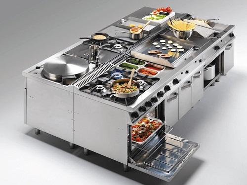Bếp âu công nghiệp là gì? Đặc điểm của bếp âu công nghiệp